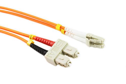 10M LC-SC OM1 62.5/125 Multimode Duplex Fibre Patch Cable