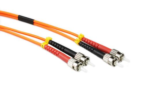 10M ST-ST OM1 62.5/125 Multimode Duplex Fibre Patch Cable