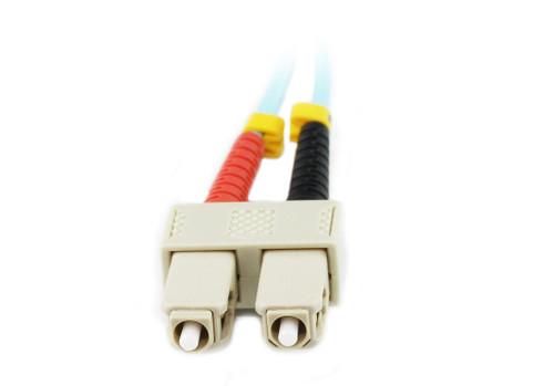 15M LC-SC OM4 50/125 Multimode Duplex Fibre Patch Cable