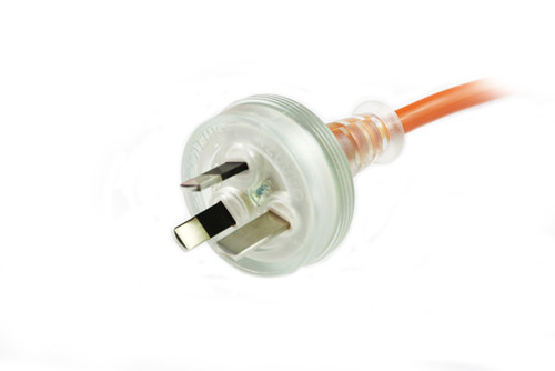 1M Medical Power Cable Orange