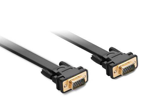 2M Flat SVGA Cable HD15 M/M