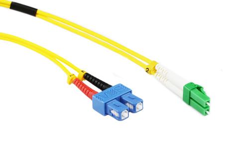 1M OS1/OS2 Singlemode Duplex LCA-SC Fibre Optic Cable