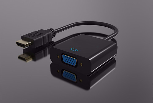 HDMI To VGA Converter  ( Video Only )