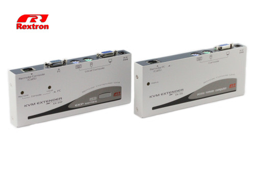 Rextron PS/2 KVM Extender Over CAT5/CAT6 EKP-221C