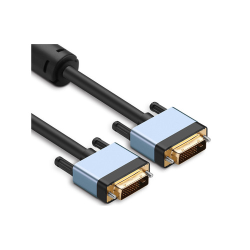 1M High Grade DVI Digital Dual Link Cable with Metal Shell