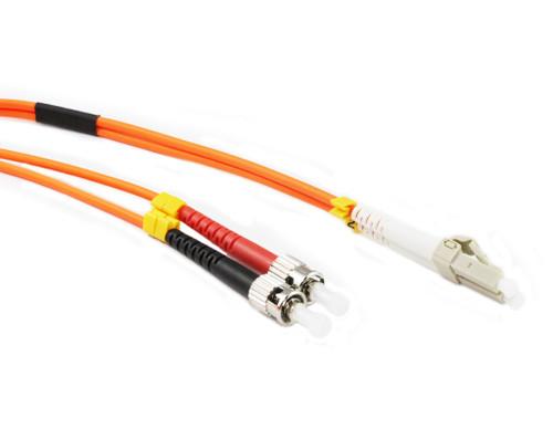15M LC-ST OM1 62.5/125 Multimode Duplex Fibre Patch Cable
