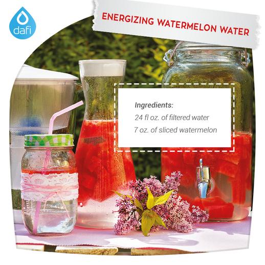 Energizing watermelon water