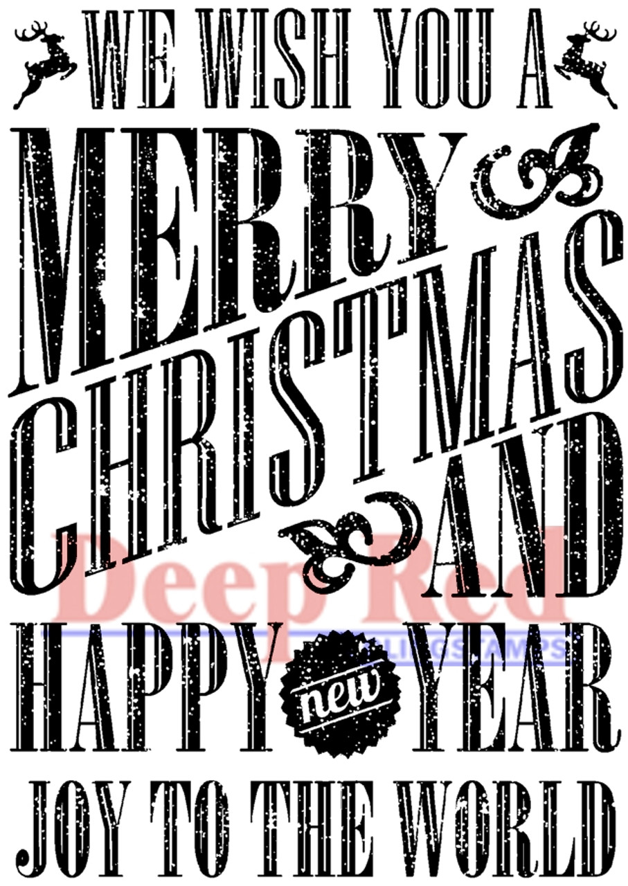 Image result for Deep Red grungy christmas wishes stamp