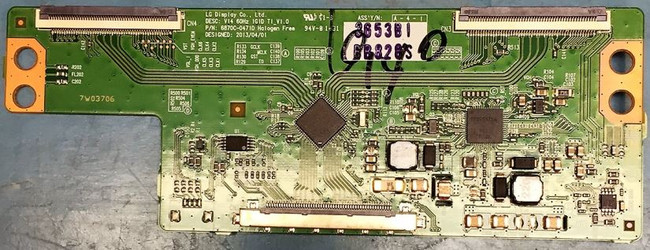 LG 6871L-3653B T-Con Board for 55LB5900-UV, 55LF6100-UA, 55LF6000-UB, 55LF6000-UB