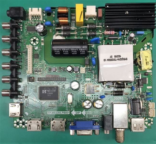 RCA 395GE0010366-A1 Main Board for LED40HG45RQ