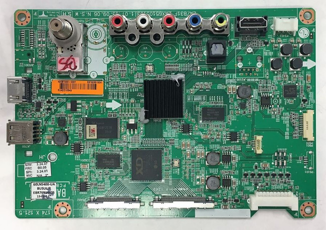 LG EBT62351504 (EAX65105101(1.7)) Main Board for 60LN5400-UA