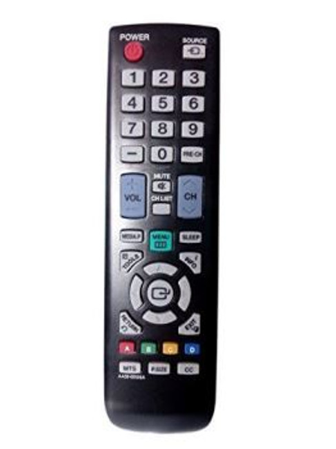 Samsung AA59-00506A Remote Control for LN19D450G1D, LN19D450G1DXZA, LN19D450G1DXZC, LN19D450G1DXZX, LN22D450G1F, LN22D450G1FXZA, LN22D450G1FXZC, LN22D450G1FXZX, PL43D450A2D, PL43D450A2DXZX, PL43D451A3D, PL43D451A3DXZX, PL51D450A2D, PL51D450A2DXZX, PN43D440A5D, PN43D440A5DXZA, PN43D440A5DXZC, PN43D450A2D, PN43D450A2DXZA, PN43D450A2DXZC, PN51D440A5D, PN51D440A5DXZA, PN51D440A5DXZC, PN51D450A2D, PN51D450A2DXZA, PN51D450A2DXZC, AA5900506A, LN19D450G1DXZAPY01, LN22D450G1FXZACY01, PN43D430A3DXZA, PN43D430A3DXZAN102, PN43D440A5DX, PN43D450A2DXZAB104, PN43D450A2DXZAN102, PN51D430A3DXZA, PN51D430A3DXZAN411, PN51D440A5DX, PN51D450A2DXZAN101, PN51D450A2DXZAN102, PN51D450A2DXZAN411