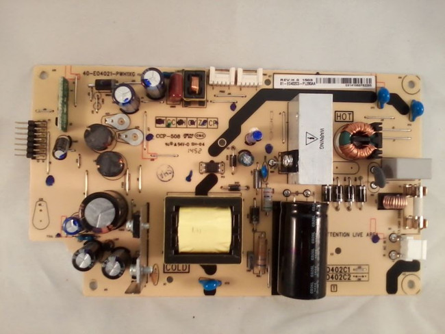 TCL 81-E0402C3-PL290AA Power Supply (front)