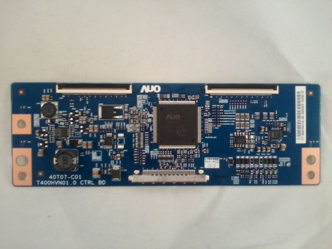 Element 55.40T04.C18 T-Con Board for ELEFW408, ELDFT406, ELDFW407 (front)