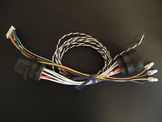 Gilbarco M12200A001 Rev B Veeder Root Wiring Harness Cable Assembly 61-84