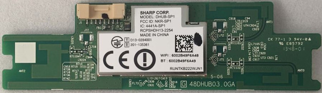 Sharp Wifi Card DHUB-SP1