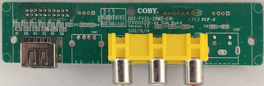 Coby Analog Signal Input Board 002-FV32-25M2-E1R