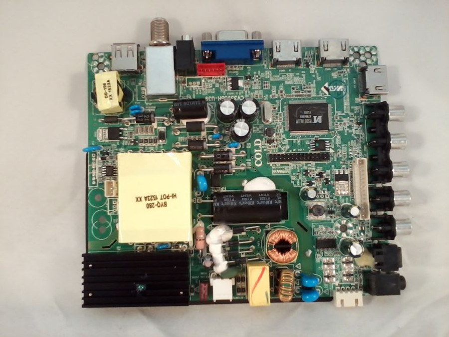 Element 34014167 Main Board / Power Supply (front)