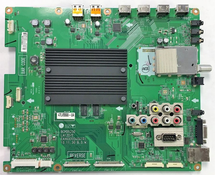 LG EBT61373504 (EAX63333404(0)) Main Board for 47LV5500-UA
