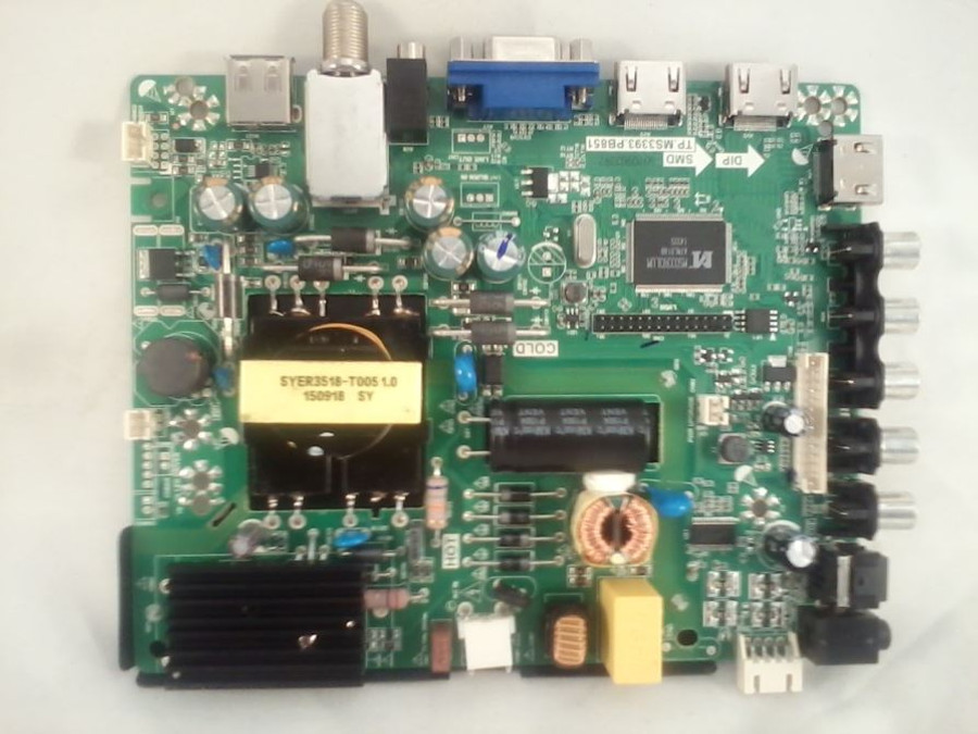 Element 22002A0028ST-65 Main Board / Power Supply (front)