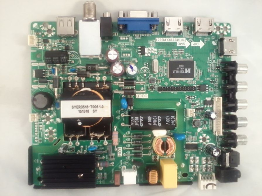 Element 22002A0028ST-25 Main Board / Power Supply (front)