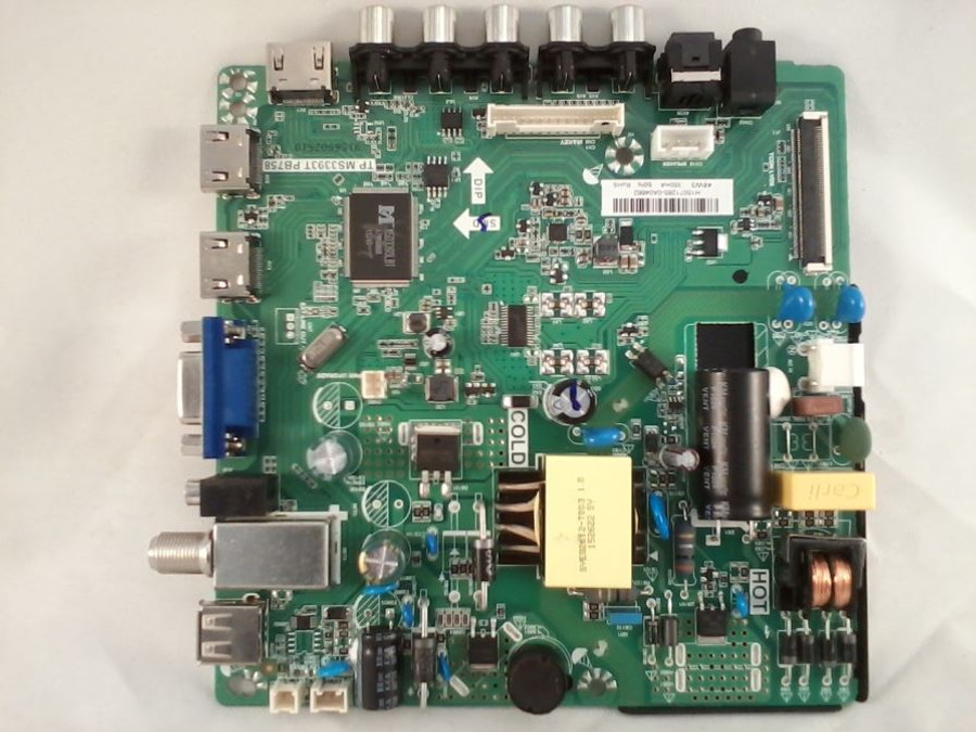 Element 34014158 Main Board / Power Supply (front)