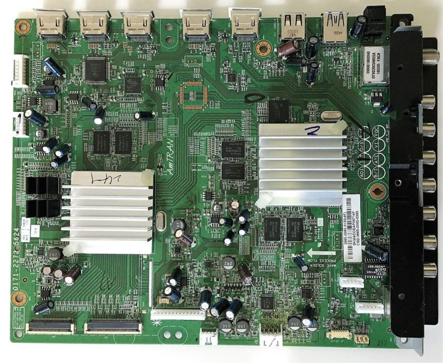 JVC 3665-0092-0395 Main Board for DM65USR