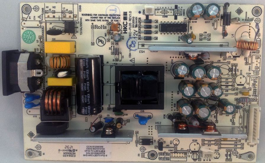 Apex HKC-PL05 Power Supply For LE3243 (812090368