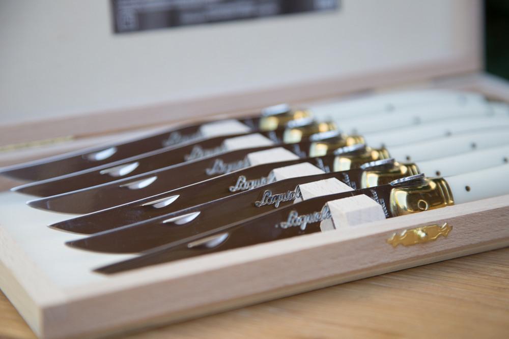 Ivory Knives - Set of 6