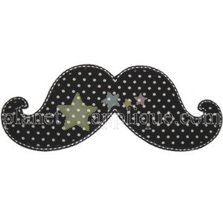 Mustache Applique