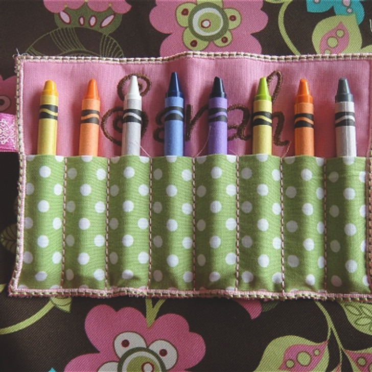 ITH Crayon Roll