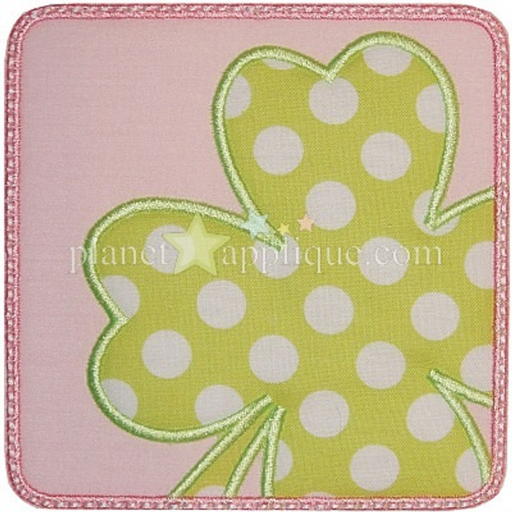 Shamrock Patch Applique