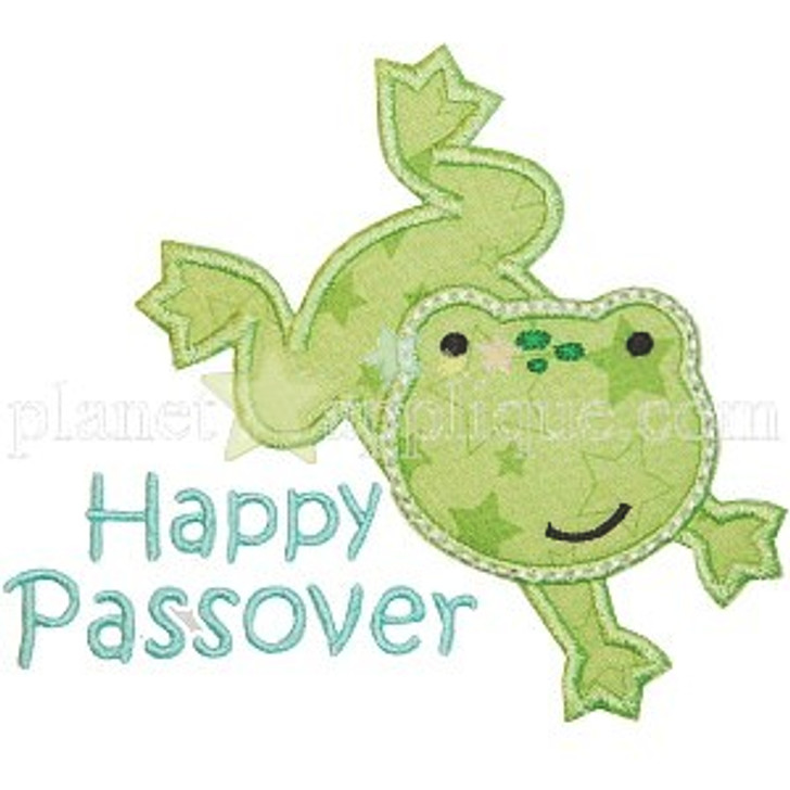 Passover Frog Applique
