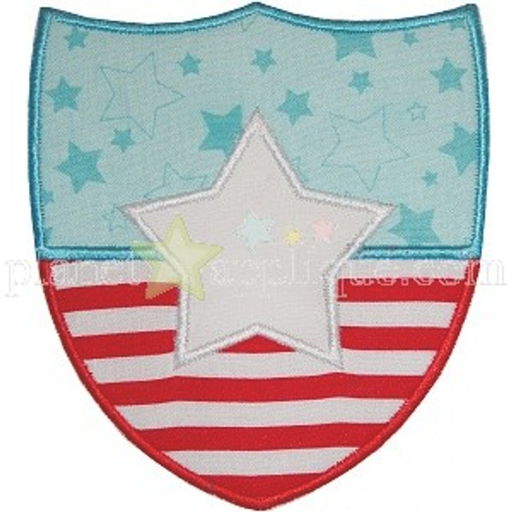 Flag Badge Applique