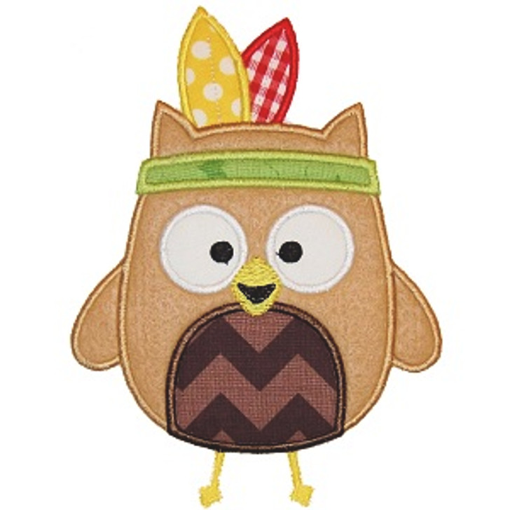 Indian Owl Applique