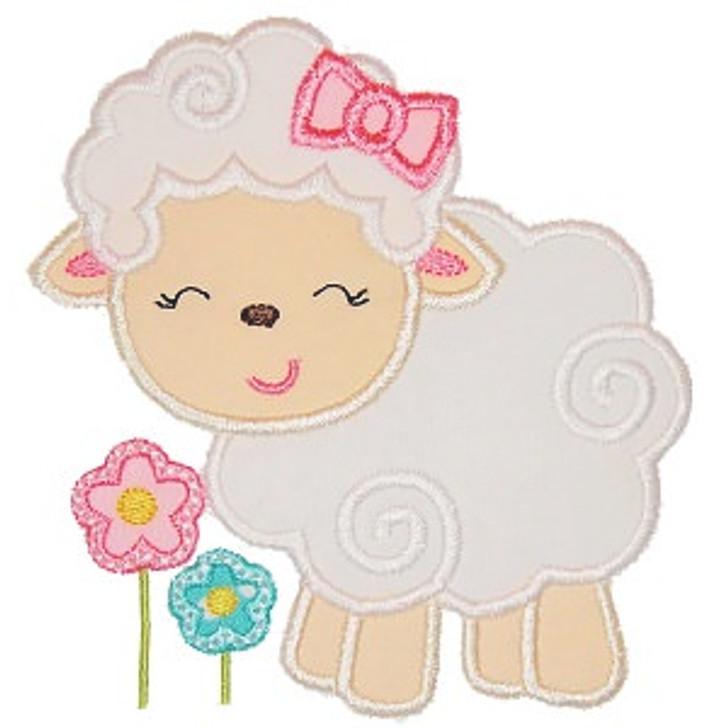 Little Lamb Applique