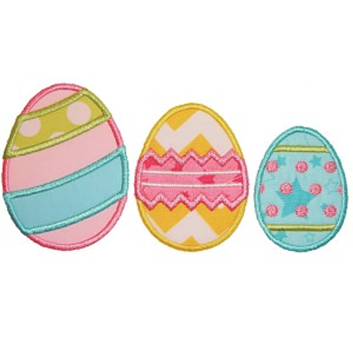 3 Eggs Applique
