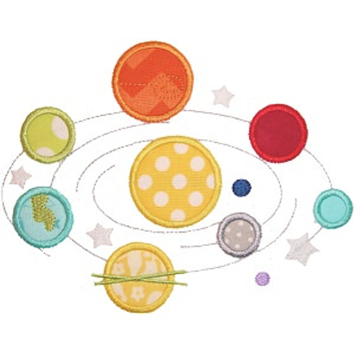 Solar System Applique
