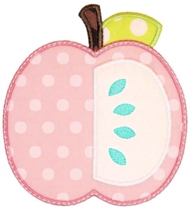 Half Apple Applique