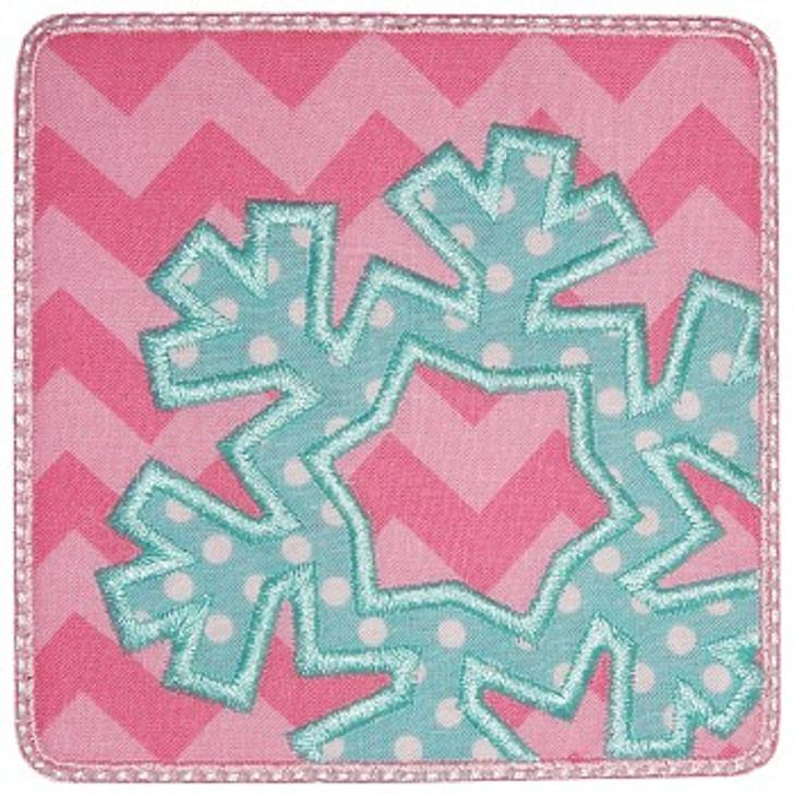 Snowflake Patch Applique
