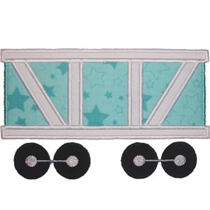 Train Car Applique