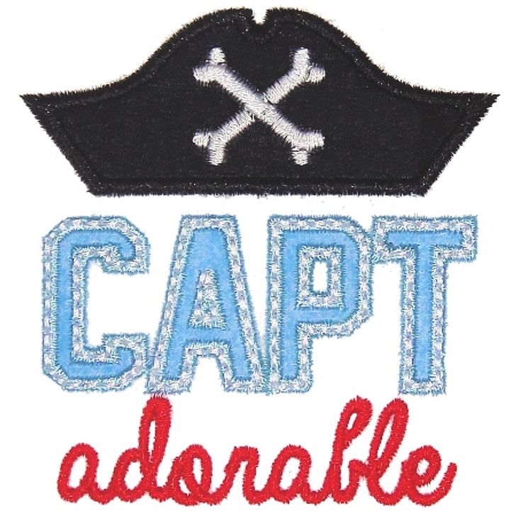 Capt Adorable Applique