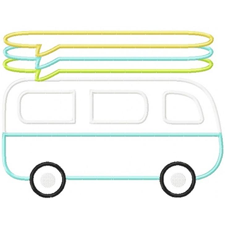 Surf Van Applique