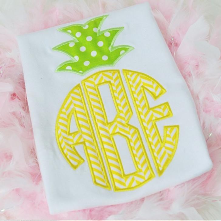 Pineapple Monogram Alpha