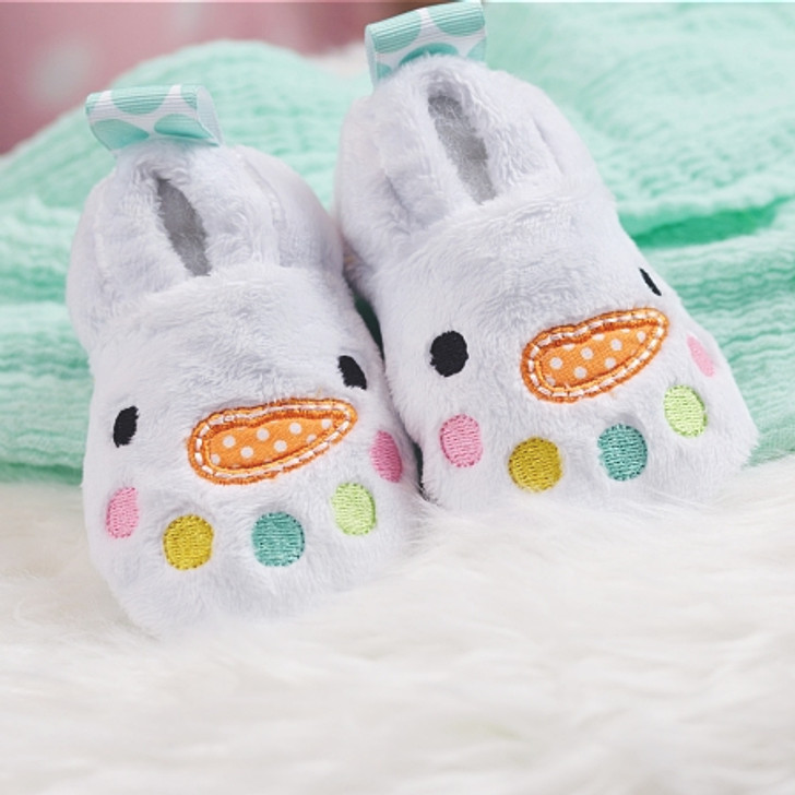 ITH Snowman Baby Booties