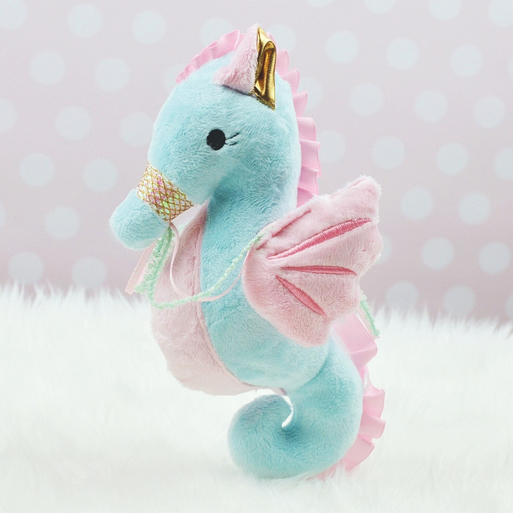 In the Hoop Sophie Seahorse Plush