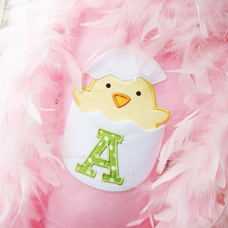 Chick In Egg Pocket Alpha