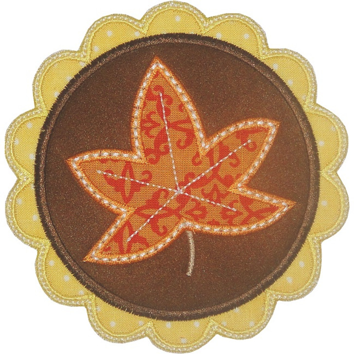 Leaf Patch Applique