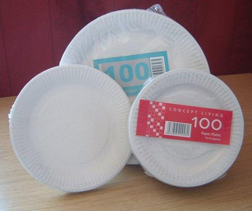 Case x 1000 - 23cm 9 paper plates  & Catering Disposables - Disposable Plates - Paper Plates and Bowls ...