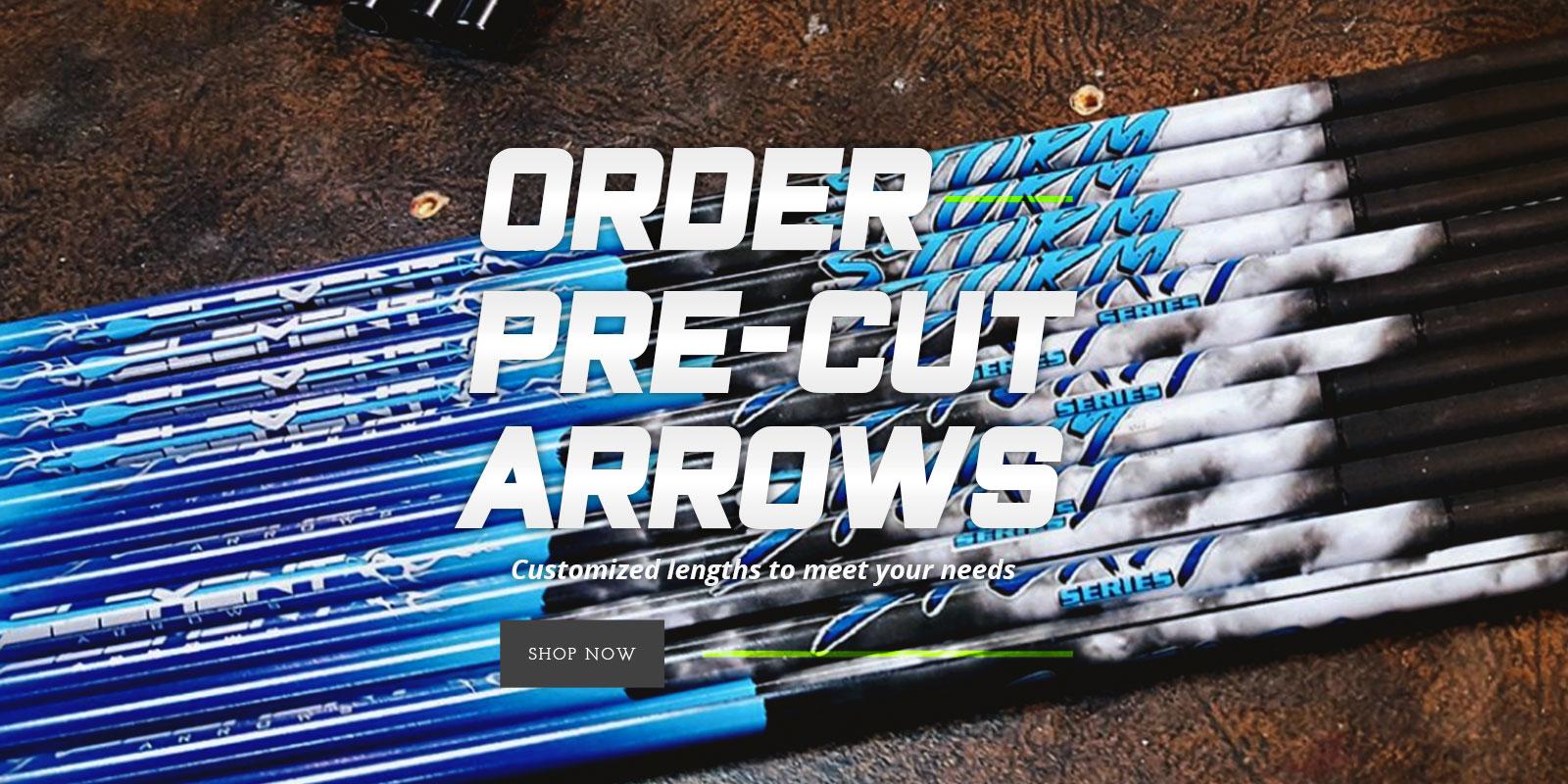ORDER PRE-CUT ARROWS